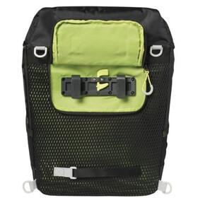 Basil Miles Daypack Luggage Carrier Bag 14L, black lime
